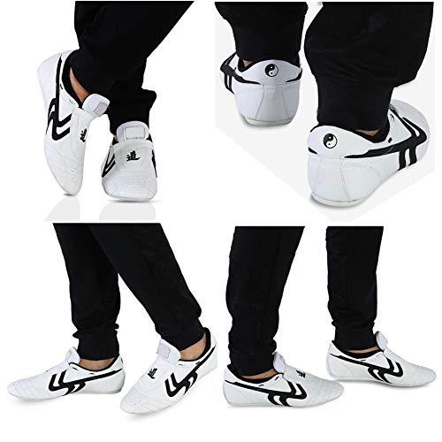 Alomejor Taekwondo Calzado Deportivo Boxeo Kung fu Taichi Calzado Ligero Calzado Deportivo...
