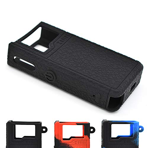 Cyameri Texture Case for Lost Vape Orion DNA 40W POD Box Mod Protective Silicone Skin Rubber Cover Sleeve Wrap Gel Shield Fits Lostvape (Black)