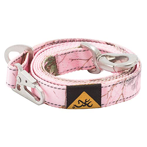 Browning Classic Dog Leash RT Xtra Pink, 4ft x 1in