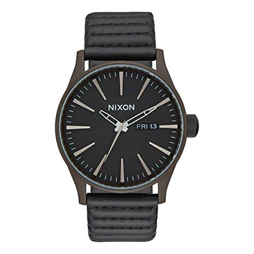 Nixon Reloj Analógico para Hombre de Cuarzo con Correa en Cuero A105-2138-00