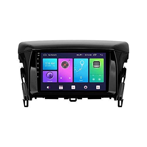 Autoradio Stereo GPS Navigazione Radio Ricevitore Lettore Multimediale Sat Nav per MITSUBISH Eclipse 2018 2019 Unità Testa con 1080 P Video Bluetooth Specchio Link SWC, 8 Core 4G+WiFi: 4+64 GB