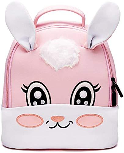 JameStyle26 3D Motiv Hase Einhorn Kinderrucksack Kindergarten Tornister Häschen Rucksack Schultasche Backpack Mädchen Junge (Hase)