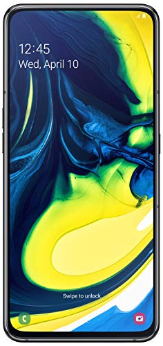 Samsung Galaxy A80 (Phantom Black, 8GB RAM, 128GB Storage) with No Cost EMI/Additional Exchange Offers