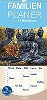 All U Buddhas - Familienplaner hoch (Wandkalender 2022 , 21 cm x 45 cm, hoch): Bilder von Buddhas in kunstvoller Bildgestaltung (Monatskalender, 14 Seiten )