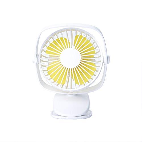 WXBP Mini-ventilator, USB, klein, voor studenten, draagbaar, draagbaar, laptop, notebook, kantoor, accu, kleine elektrische ventilator, verlaagt de temperatuur