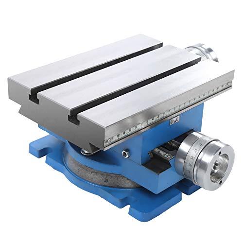 para fresadora y taladradora, mesa de trabajo giratoria, mesa deslizante compuesta de accesorios industriales,