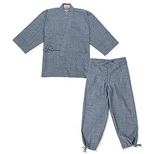 IKISUGATA Men's Samue Kaihara Denim/Chambray Working Clothes
