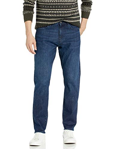 Goodthreads Selvedge Athletic-Fit jeans, Sanded Rinse, 29W x 34L