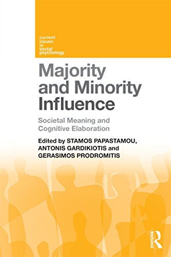 Majority and Minority Influence: Societal Meaning and Cognitive Elaboration (Current Issues in Social Psychology) (English Edition)