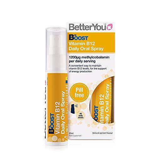 BetterYou P33445 Boost B12 Spray Oral 1 Unidad 60 g