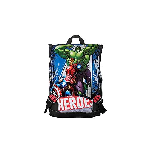 Marvel Avengers 21 Zaino Estensibile con Spallacci Imbottiti e Schienale Comfort Back, Spidey, Giochi Preziosi, Multicolore