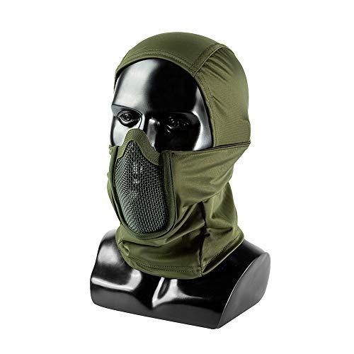 OneTigris Balaclava Mesh Gesichtsschutz Taktische Sturmhaube Ninja Style Vollgesichtsmaske für Airsoft