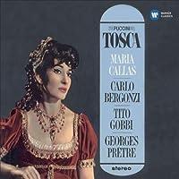 『トスカ』全曲 ジョルジュ・プレートル & パリ音楽院管弦楽団、マリア・カラス、カルロ・ベルゴンツィ、ティト・ゴッビ、他(1964-65 ステレオ)(2CD)