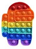 LAVONE Fidget Toys, Push Bubble Fidgets...