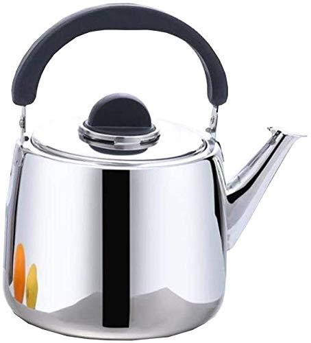 Bouilloire induction Bouilloire en acier inoxydable en acier inoxydable Tea Poêle Cuisine Cuisine de la cuisinière à gaz Plaques de cuisson électrique Restaurants à la maison WHLONG (Color : 6l)