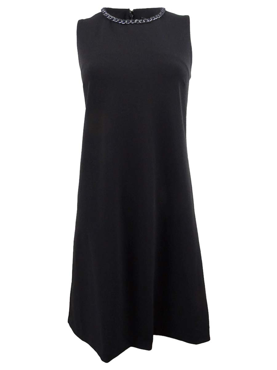 Available at Amazon: DKNY Women's Chain Trim Trapeze Shift Dress