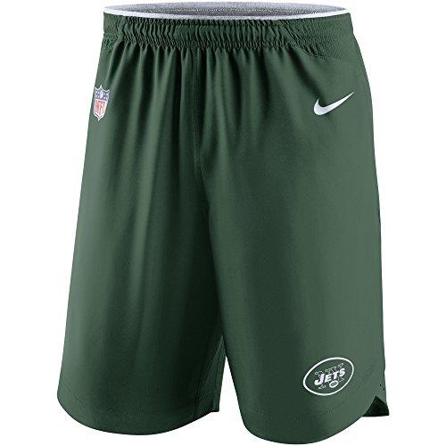 Nike New York Jets Dri-Fit Sideline Vapor Performance Shorts (Small)