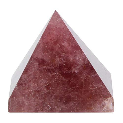 Rockyin 100% Natural de Cristal de Cuarzo pirámide de energía Torre de curación decoración del hogar del Ornamento