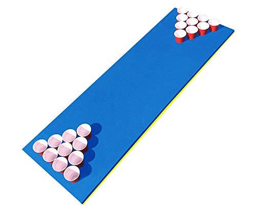 Offizielle Beer Pong Pool Party | Beer Pong Luftmatratze | Premium Qualität | Sommerspiel | Pool Spiel | Trinkspiel | Party & Aperitif Spiel | OriginalCup®