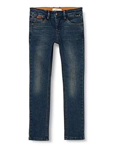 NAME IT Jungen NKMSILAS DNMTOPPES 3387 Pant NOOS Jeans, Dark Blue Denim, 116