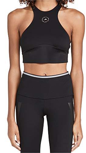 adidas by Stella McCartney Women's Truepur Bikini Top, Black, Medium