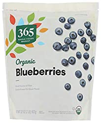 365 by Whole Foods Market, Frozen Organic Fruit, Blueberries, 32 Ounce