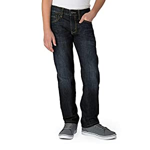 Big Boys' Slim Straight Fit Jeans