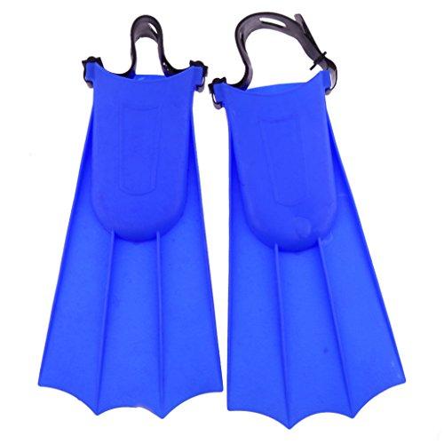SM SunniMix Erwachsene Flossen Taucherflossen Schwimmflossen Schnorchelflossen Trainingsschwimmflossen - Blau, 36-40