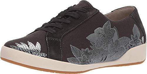 Dansko Women's Olisa Black Printed Sneaker 8.5-9 M US