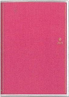 【2019年春】【能率協会】王様のブランチ×ペイジェム手帳 2019年4月始まり ウィークリーB6-iブロック 月曜 ローズ 9994