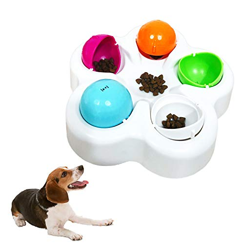 Pet IQ Intelligent Toy Smart Dog Puzzle Toys for Beginner, Puppy Treat Dispenser Interactive Dog Toys - Improve Your Dog's IQ, Specially Designed for Training Treats