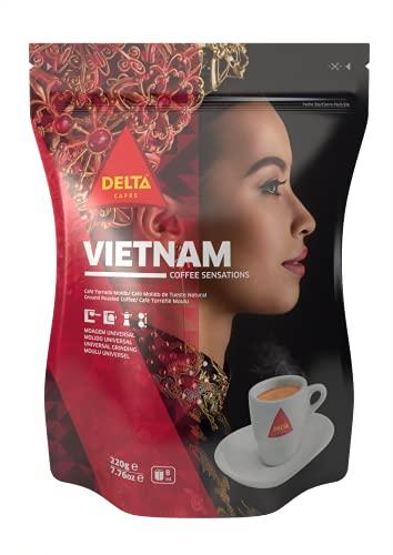 Delta Café Molido - Origen Vietnam - 220 g