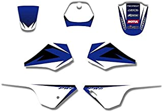 SMARTCARTOY Decal Sticker Kits for Yamaha PW80 PW 80 All Years Pit Bike 1 PCs