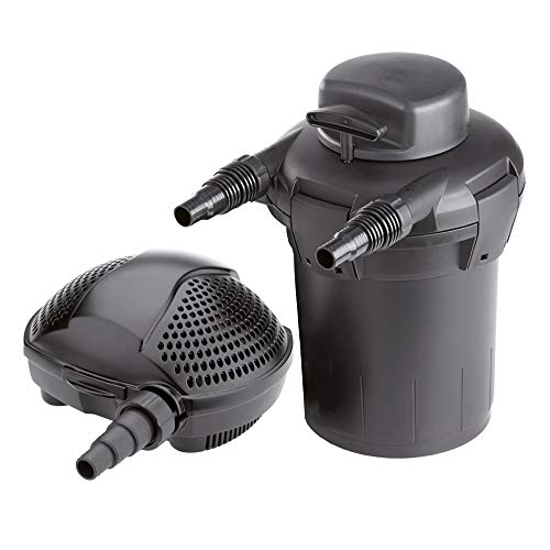 The Pond Guy SimplyClear Pressurized Filtration System - SimplyClear and SolidFlo G2 1250 Combo