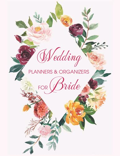 Wedding Planners and Organizers for Bride: The Joyful Destination Wedding Planner Includes: Contact List  Thank You Gifts  Budget  Planning Snapshot  Seating Chart ( Wedding Planner Notebook)