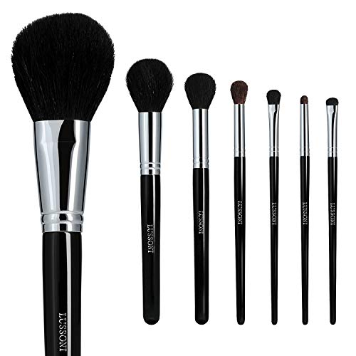 T4B LUSSONI Natural Smoothness 7 pcs Pinceaux Maquillage Professionnel