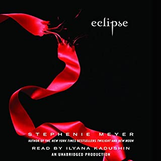Eclipse     The Twilight Saga, Book 3              Written by:                                                                                                                                 Stephenie Meyer                               Narrated by:                                                                                                                                 Ilyana Kadushin                      Length: 16 hrs and 26 mins     26 ratings     Overall 4.8
