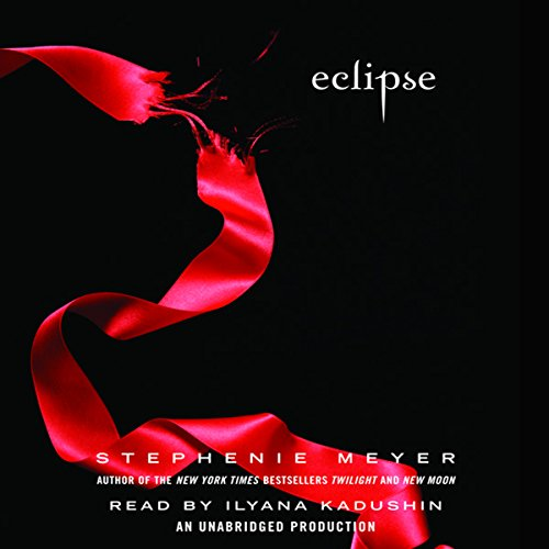 Eclipse     The Twilight Saga, Book 3              By:                                                                                                                                 Stephenie Meyer                               Narrated by:                                                                                                                                 Ilyana Kadushin                      Length: 16 hrs and 26 mins     9,638 ratings     Overall 4.6