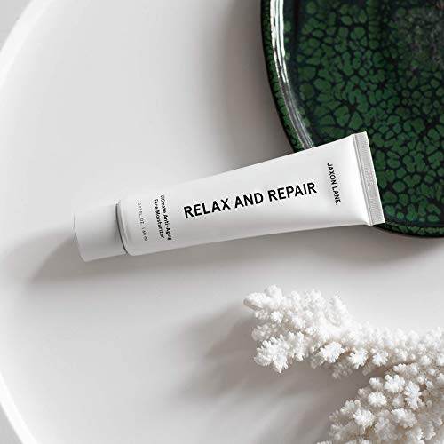 41vnneVlf L - Relax And Repair Anti Aging Face Moisturizer for Men | Anti Wrinkle Cream for Face, Night Cream, Eye Cream with Niacinamide (Vitamin B3), Hyaluronic Acid, Vitamin E & Ceramides For Skin by Jaxon Lane
