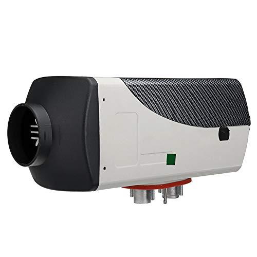 papasbox Calentador de estacionamiento de automóviles, calentador diésel de aire de un solo orificio para vehículos y barcos, 8KW, con pantalla y control remoto, para automóvil, camión, batería, rueda