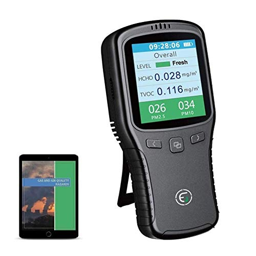 EG Air Quality Monitor, Formaldehyde Detector, Pollution...