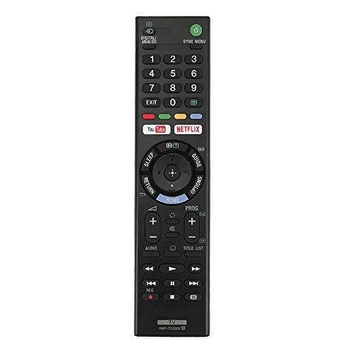 Sostitutivo RMT-TX300E telecomando per sony TV con pulsanti Netflix e You Tube
