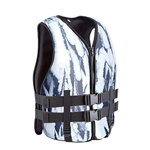 Chalecos Salvavidas Chaleco salvavidas portátil adulto camuflaje Pesca ajustable chalecos salvavidas de flotabilidad Dispositivo de asistencia, aptas for el baño de buceo y kayak Rafting Surf Pesca