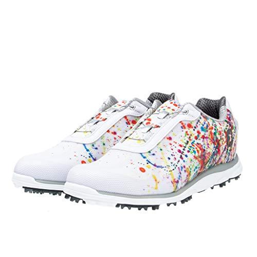 [フットジョイ] ゴルフシューズ エンパワー スパイクレス Boa 2016年モデル レディース ホワイト/プリント(19) 24.5 cm 3E
