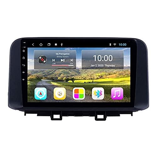 Stereo per Auto di Navigazione GPS per Hyundai Encino Kona/Tucson 2018 2019 Navigatore satellitare Internet Multimedia Lettore Musicale Navigazione Web Audio con Bluetooth Touch Screen Mirrorlink, 4