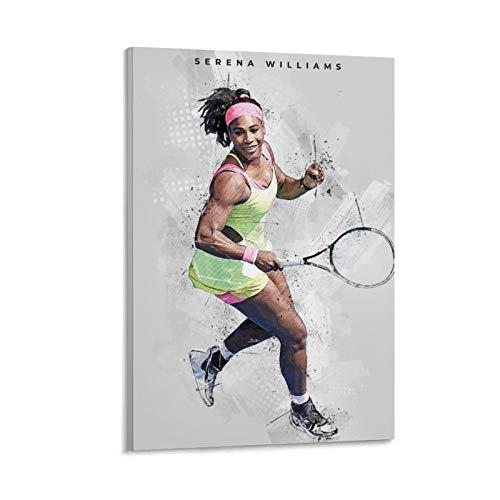 LKJHLK Póster de Serena Williams de tenis deportivo 8 para decoración de...