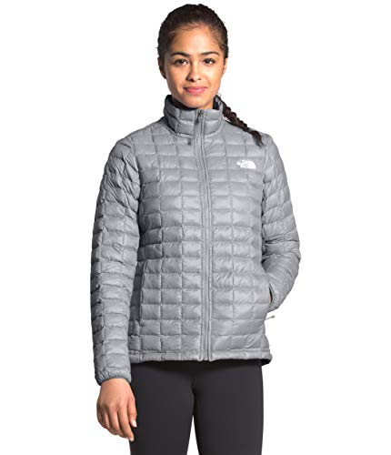 The North Face Women's Thermoball Eco Insulated Jacket - Fall or Winter Coat, Mid Grey Matte, XL