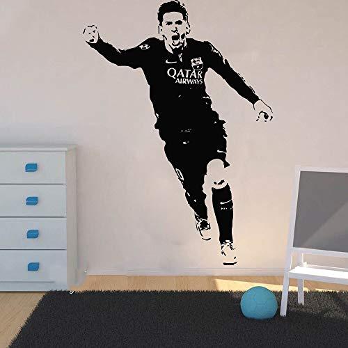Wandtattoo Kinderzimmer Lionel Messi Barcelona Fußballspieler Wandaufkleber Schlafzimmer Jungen Zimmer Argentinien Fußball Sport