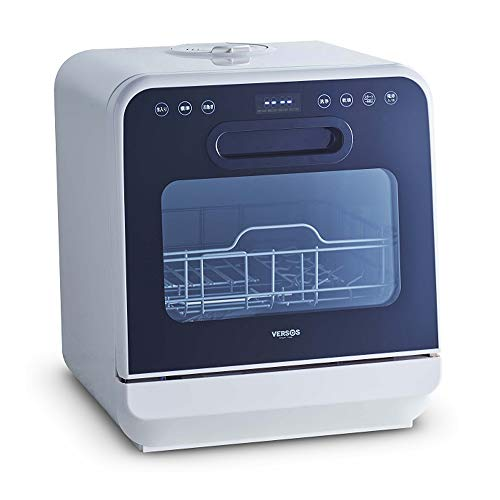 iimono117 食器洗い乾燥機 2段式 ホワイト / [ 取り付け 工事不要 ] タンク式 食洗器 食洗機 上部給水 選べる 5種類 洗浄コース