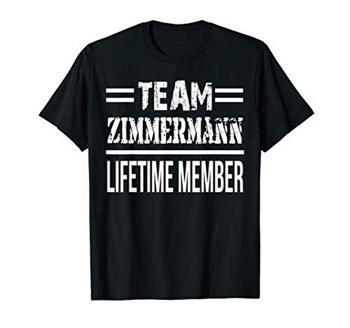Team Zimmermann Lifetime Member T-Shirt